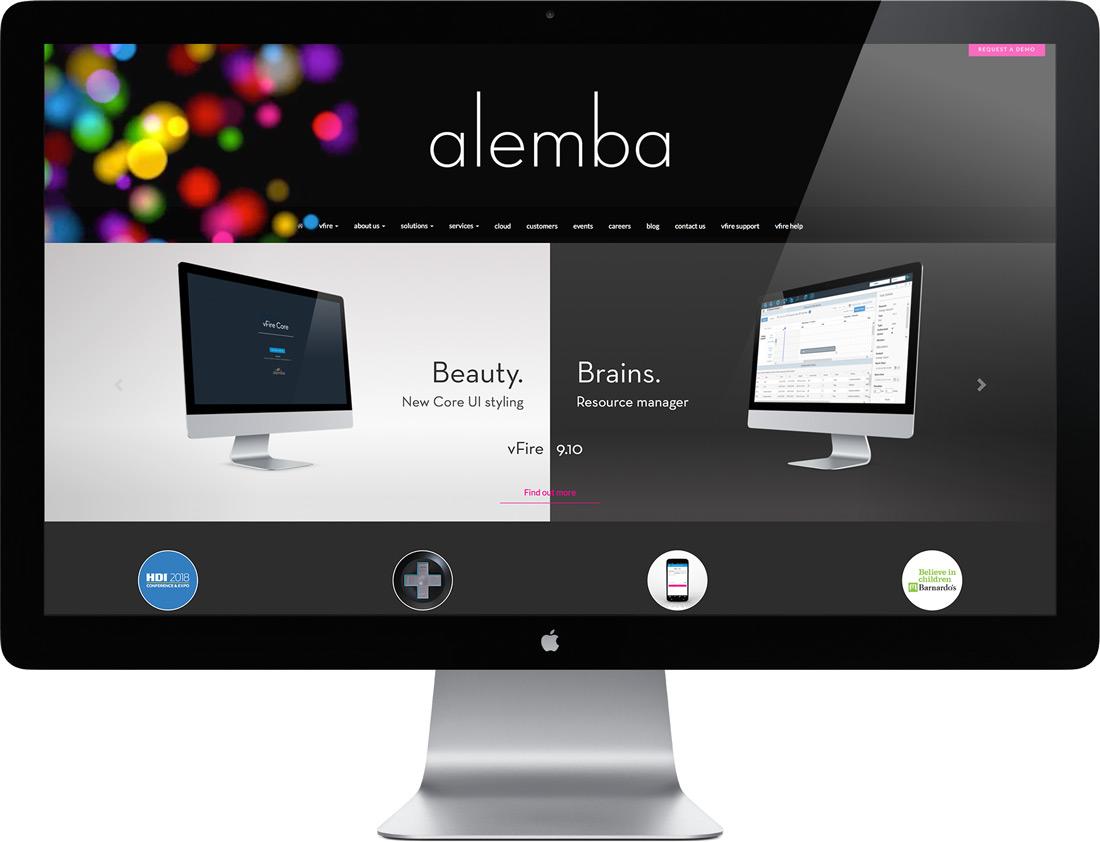 Alemba website